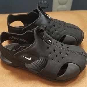 Black Toddler Boys Nike Sandals